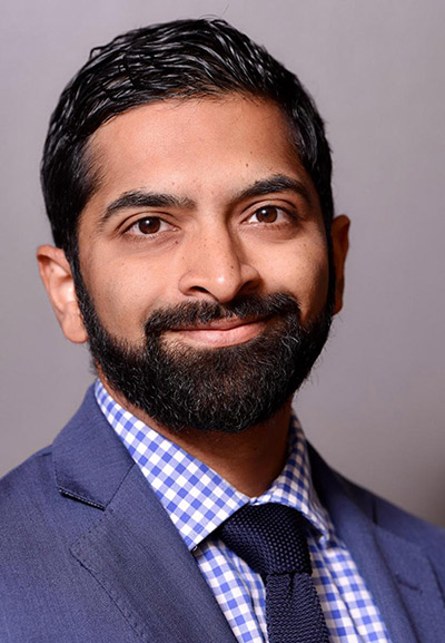 Department Chair Brandon Vaidyanathan